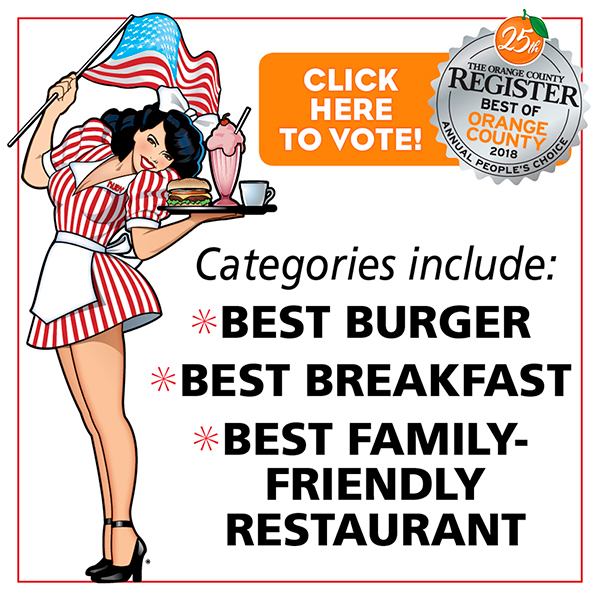 Vote for Ruby's Diner for Best of OC