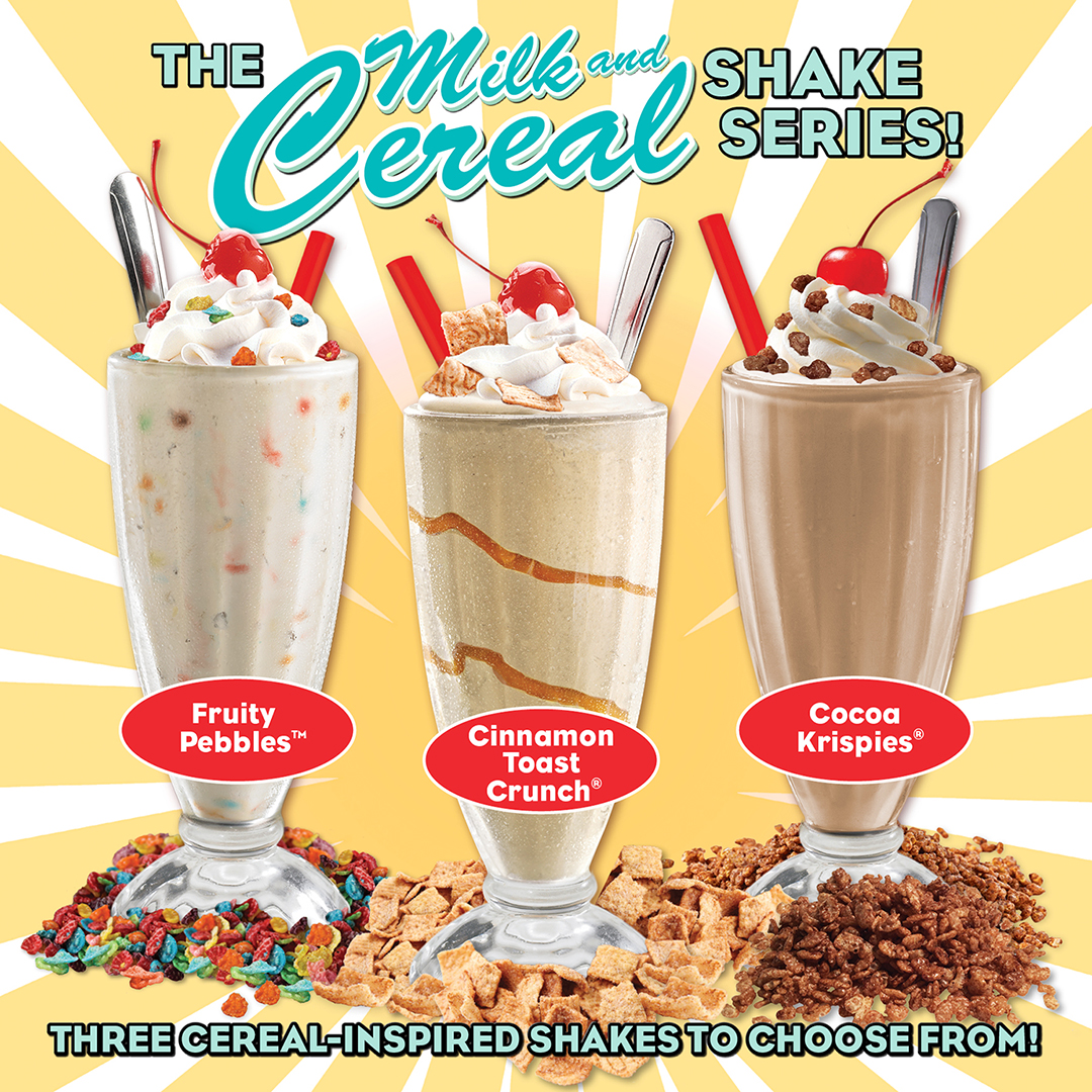 Milk and Cereal Shake