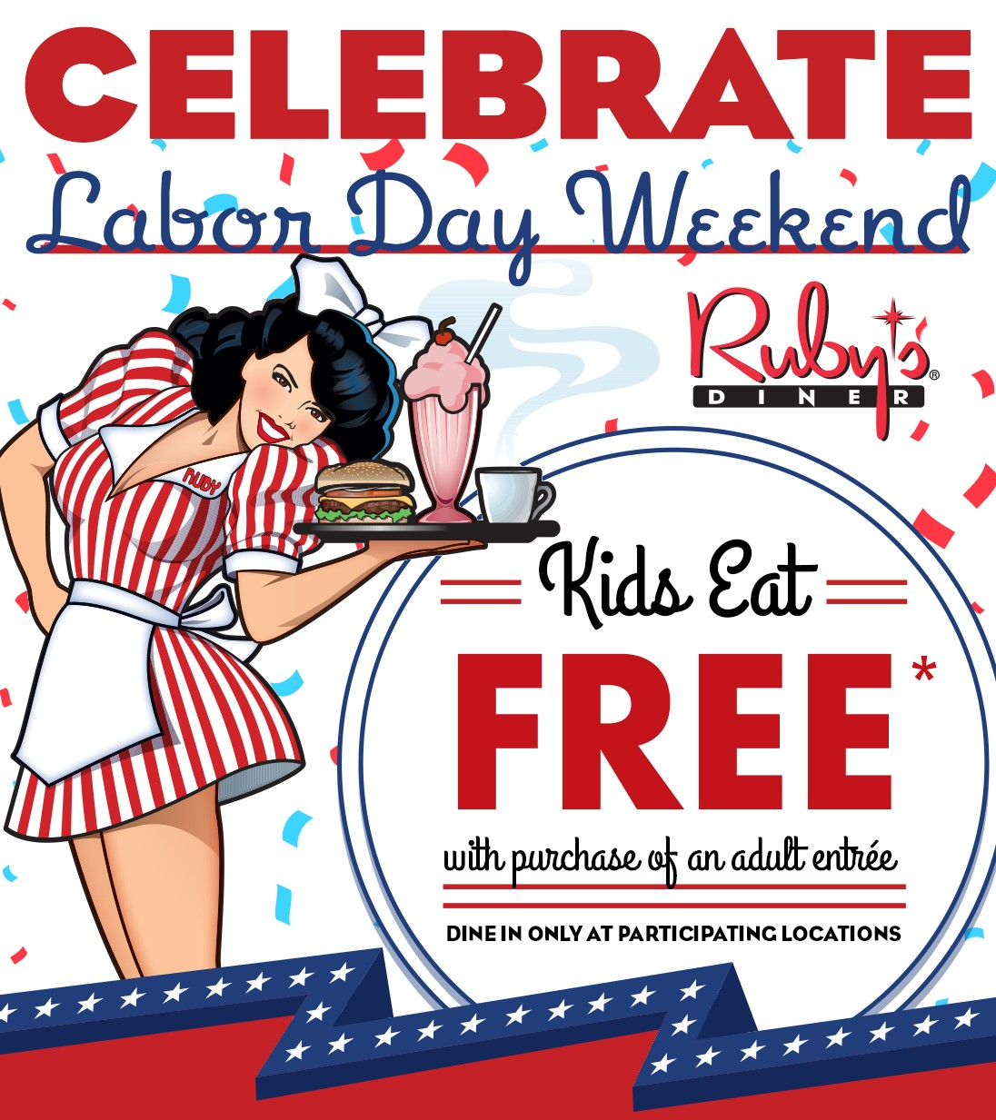 Kids Eat Free On Labor Day Weekend